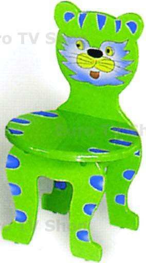 Комплект 4 бр. детски столчета коте СА89