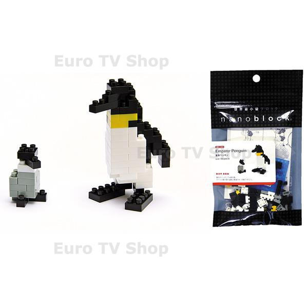 НАНОБЛОК - важен пингвин и непослушен заек