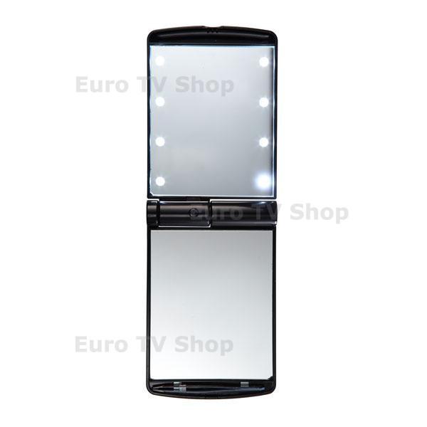 Огледало с LED светлини