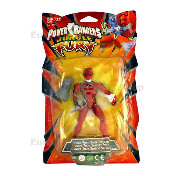 Power Rangers тигър с шок сензори