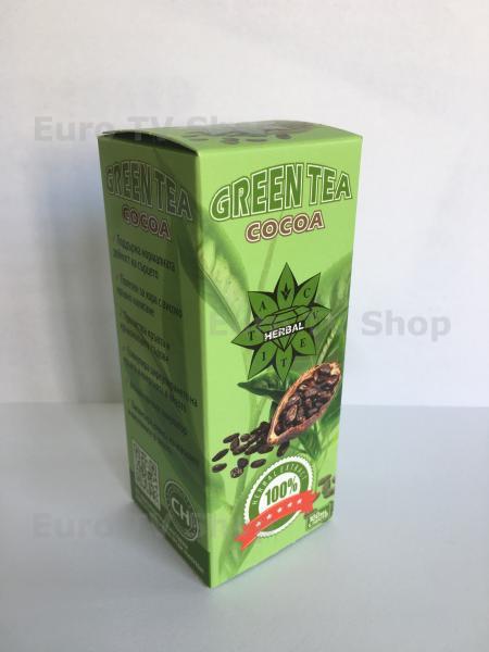 Хербал - Зелен чай с какао 100мл