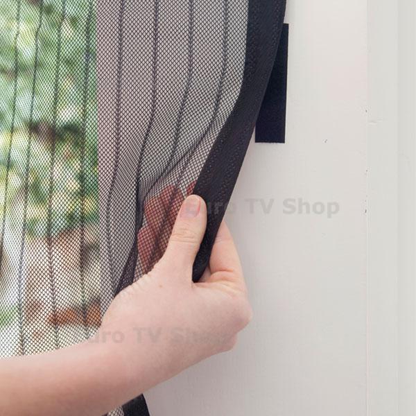 Мрежа против насекоми Snap Screen - черна