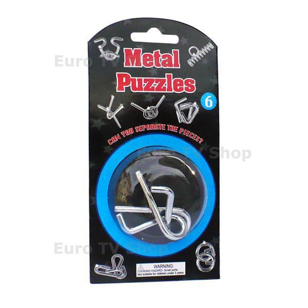 Метален пъзел 6