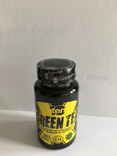 Хербал-Зелен чай 30капс