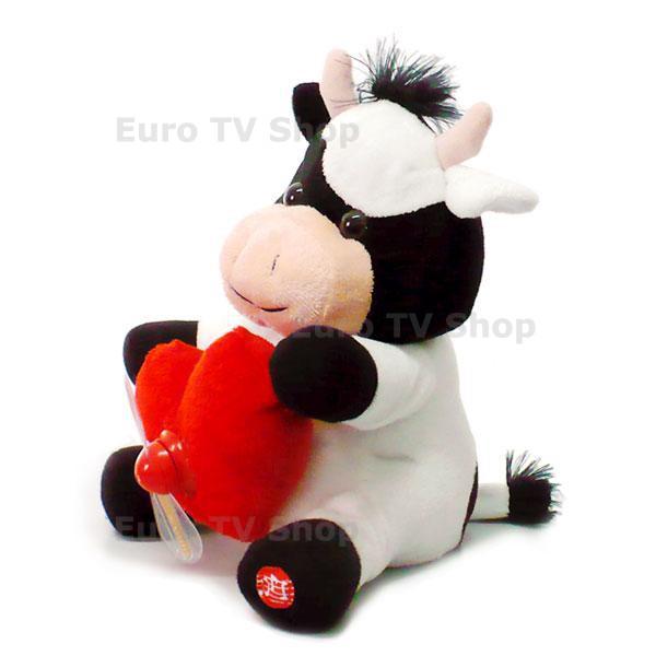Музикална плюшена крава