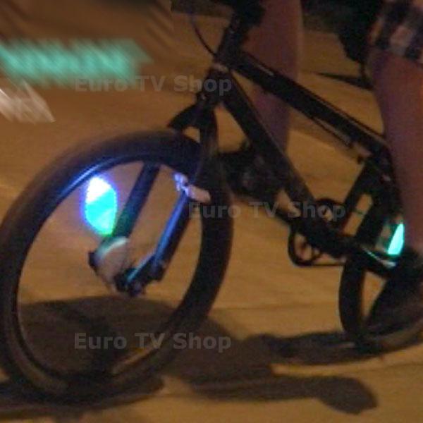 Светлинен тунинг аксесоар за велосипеди + ПОДАРЪК