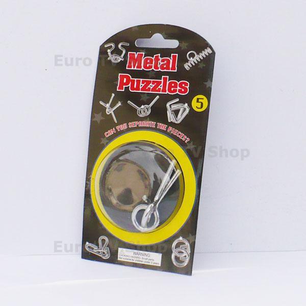 Метален пъзел 5