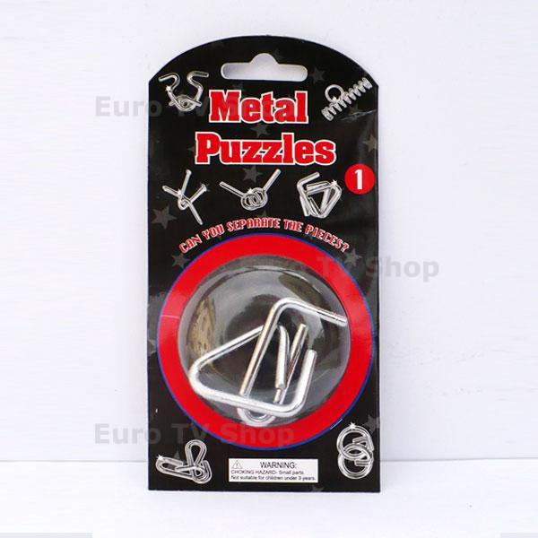 Метален пъзел 1