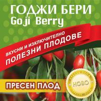 Годжи Бери пресен плод - интензивен курс - 1 000 грама