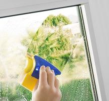 Магнитен мини уред за почистване на прозорци