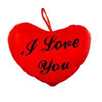 """Плюшено сърце """"Обичам те"""""""