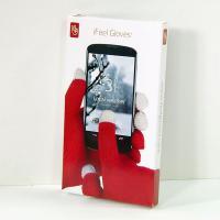 Ръкавици за Touchscreen display - червени