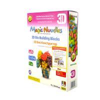 Magic Nuudles Ваза с цветя и подарък 3D kнижка и достъп до Kidamom
